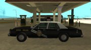 Ford LTD Crown Victoria 1987 New Mexico State Police for GTA San Andreas miniature 5