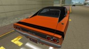 Dodge Charger 1968 RT 426 for GTA Vice City miniature 2