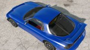 Mazda RX-7 Type R (FD3S) 2001 for BeamNG.Drive miniature 2