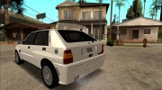 Lancia Delta HF Integrale Evoluzione II for GTA San Andreas miniature 15