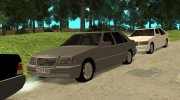 Mercedes-Benz W140 S-класс for GTA San Andreas miniature 8