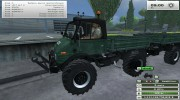 Unimog U 84 406 Series и Trailer v 1.1 Forest for Farming Simulator 2013 miniature 2