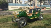 Ford T 1910 Passenger Open Touring Car for GTA 5 miniature 4