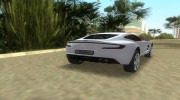Aston Martin One 77 для GTA Vice City миниатюра 5