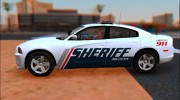 2013 Dodge Charger Red County sheriff