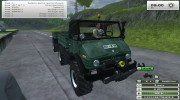 Unimog U 84 406 Series и Trailer v 1.1 Forest for Farming Simulator 2013 miniature 8