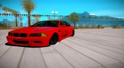 BMW M3 E46 Liberty Walk для GTA San Andreas миниатюра 6