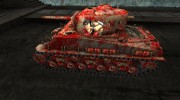 M4A3E8 Sherman в стиле игры Team Fortress 2 for World Of Tanks miniature 2