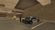 The Los Angeles Police Department для GTA San Andreas миниатюра 4