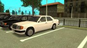 Mercedes-Benz W124 for GTA San Andreas miniature 7