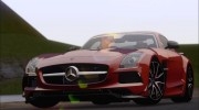 Mercedes-Benz SLS AMG Black Series 2013 для GTA San Andreas миниатюра 29