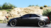 2009 Cadillac CTS-V for GTA 5 miniature 5