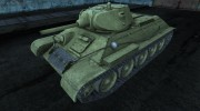 Шкурка для Т-34 для World Of Tanks миниатюра 1