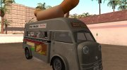 Tempo Matador 1952 Hotdog Van - Edition for GTA San Andreas miniature 2