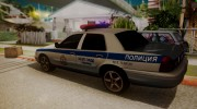 Ford Crown Victoria ДПС (Final) для GTA San Andreas миниатюра 2