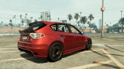 Subaru Impreza WRX STI 1.1 for GTA 5 miniature 4