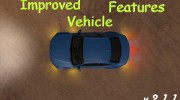 Improved Vehicle Features 2.1.1 для GTA San Andreas миниатюра 1