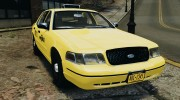 Ford Crown Victoria NYC Taxi 2004 for GTA 4 miniature 1