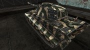 Шкурка для PzKpfw VIB Tiger II зеленый for World Of Tanks miniature 3