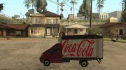 Renault Trafic Mk2 Coca Cola for GTA San Andreas miniature 2