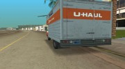1971 Ford F-350 U-Haul для GTA Vice City миниатюра 4