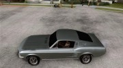 Ford Mustang 1967 for GTA San Andreas miniature 2