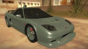 Honda NSX 2005 for GTA San Andreas miniature 1