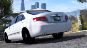 Toyota Camry 2011 for GTA 5 miniature 4
