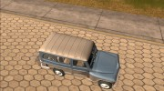 Jeep Rural Willys 1961 для GTA San Andreas миниатюра 6