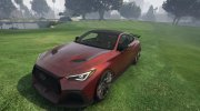 2020 Infiniti Q60 Project Black for GTA 5 miniature 1