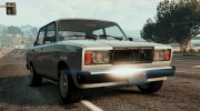 ВАЗ-2107 Lada Riva v1.2 for GTA 5 miniature 5