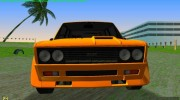 Fiat 131 Abarth Rallye 1976 for GTA Vice City miniature 5