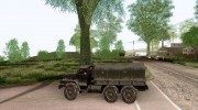Ural 4320 from MW3 for GTA San Andreas miniature 2