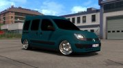 Renault Kangoo for Euro Truck Simulator 2 miniature 1