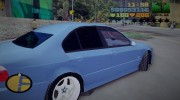 BMW M5 TUNED for GTA 3 miniature 5