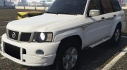 Nissan Patrol Super Safari turbo 2009 for GTA 5 miniature 1