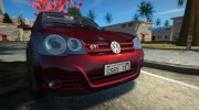 2008 Volkswagen Golf GTI for GTA San Andreas miniature 2