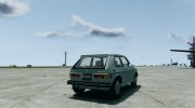 Volkswagen Rabbit 1986 для GTA 4 миниатюра 4