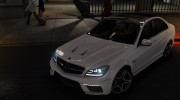 Mercedes-Benz C63 AMG for GTA 4 miniature 1