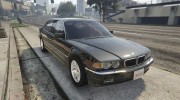 BMW L7 - 750IL E38 for GTA 5 miniature 9