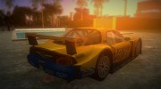 Mazda RX-7 FD3S RE Amemiya Super GT for GTA Vice City miniature 3