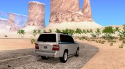 Toyota Land Cruiser 100 VX for GTA San Andreas miniature 4