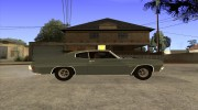 Chevrolet Chevelle SS 454 1970 for GTA San Andreas miniature 5