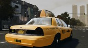Ford Crown Victoria NYC Taxi 2012 для GTA 4 миниатюра 2