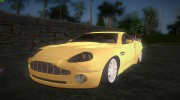 Aston Martin V12 Vanquish v2.0 for GTA Vice City miniature 1