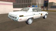 AMC Matador 1971 Hazzard County Sheriff for GTA San Andreas miniature 3