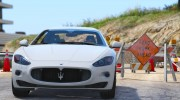 2010 Maserati GranTurismo S for GTA 5 miniature 10