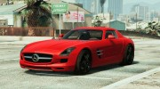 Mercedes-Benz SLS AMG Coupe v1.3 for GTA 5 miniature 1