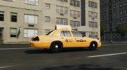 Ford Crown Victoria NYC Taxi 2012 для GTA 4 миниатюра 4