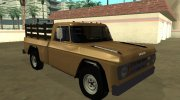 Dodge D100 1968 for GTA San Andreas miniature 2